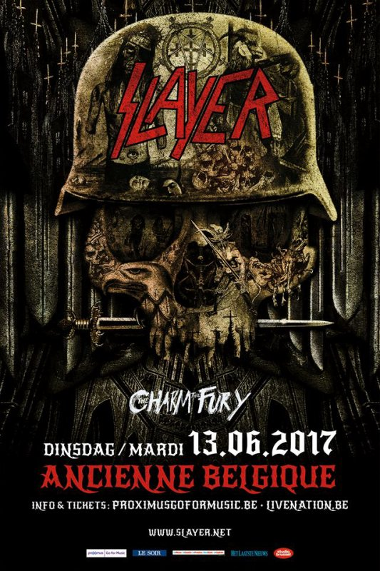 The Slayer & The Charm The Fury Belgian Concert