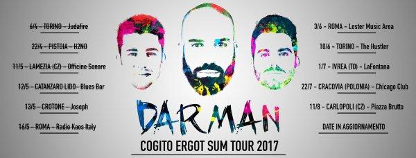 Darman New Album + Summer Tour 2017