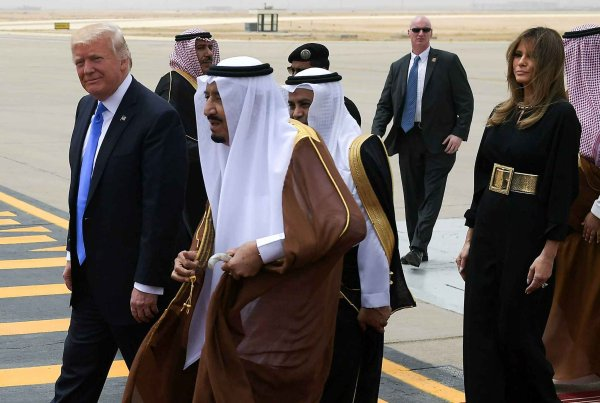 The Trump Presidential World Tour - First Stop to Saudi Arabia