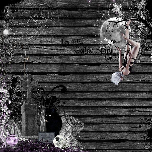 MELLYE CREATIONS : gothic night