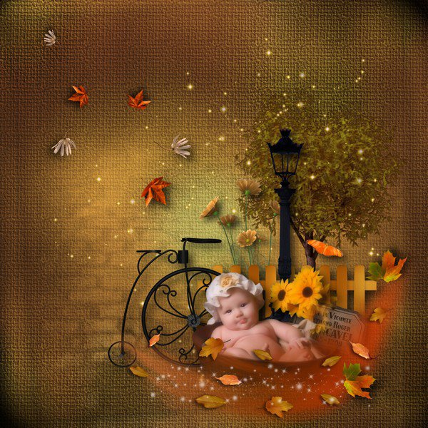 MELLYE CREATIONS :  sweet autumn