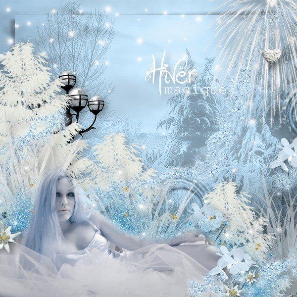 MELLYE CREATIONS : sur glace