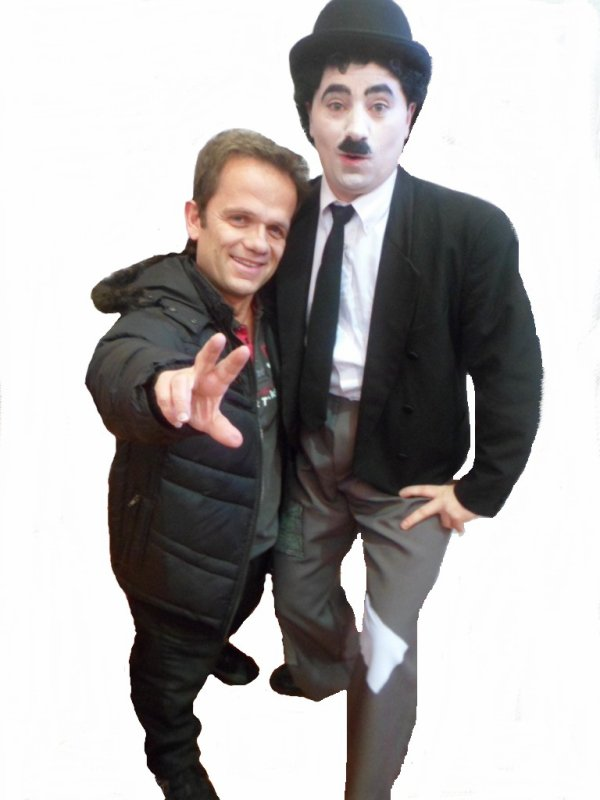 Charlie Chaplin et Passe-Partout !!!