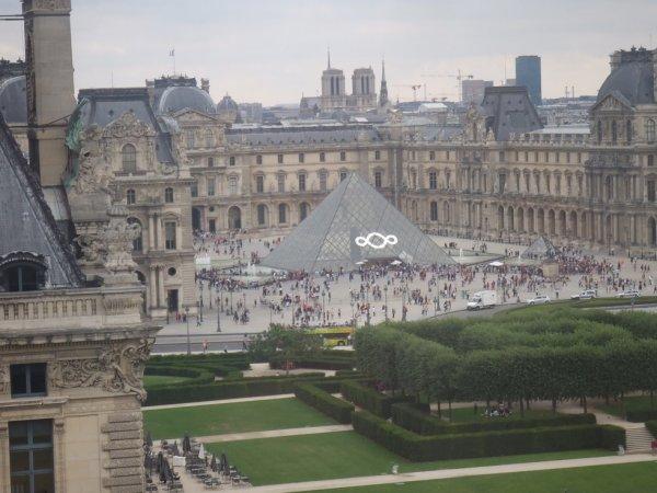 Louvre : vue de la grande roue