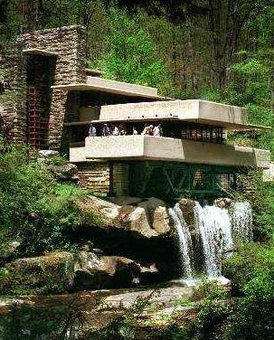 Frank lloyd wright histoire de l 39 art - La maison sur la cascade frank lloyd wright ...