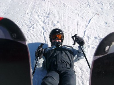 Moi et mes skis