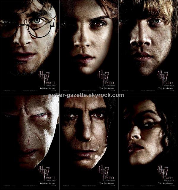 Harry Potter et les Reliques de la Mort - Nouvelle Affiche