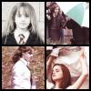 Emma sur le tournage de plusieurs HP