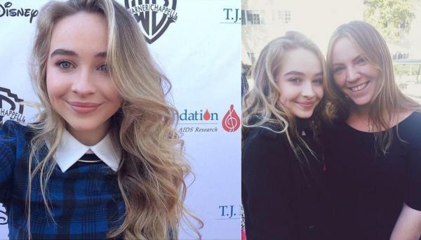 Sabrina au Family Day le 16 novembre