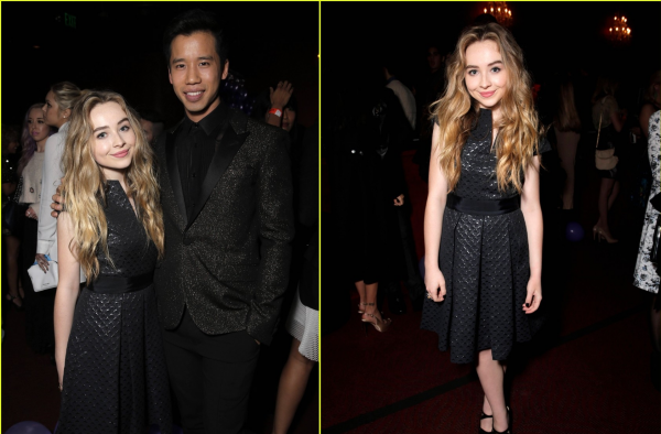 Sabrina au Just Jared Homecoming Dance le 20 novembre