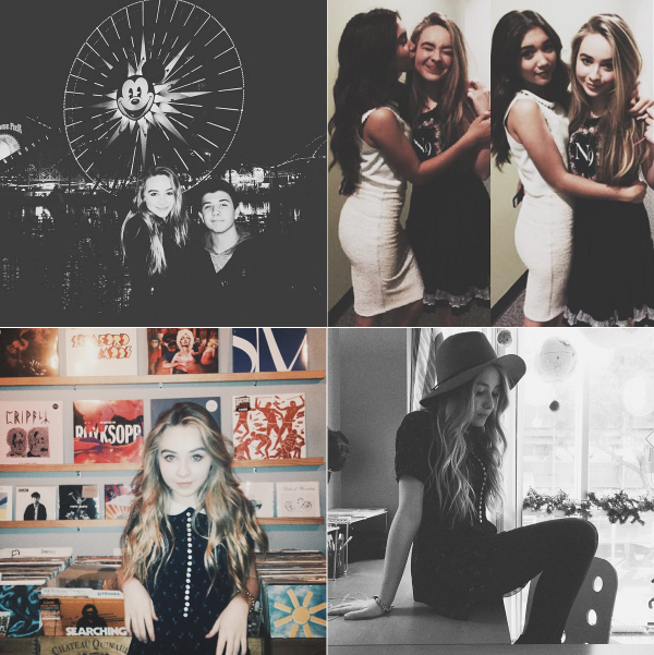 Sabrina a posté la première photo pour l'anniversaire de son amie Madison Lee. Les autres sont avec sa soeur Sarah et Fallon Smythe