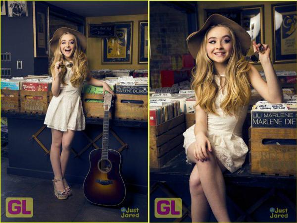 """Sabrina sur le set de """"Further Adventures in Babysitting"""""""