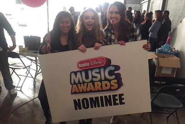 """Sabrina est nominée pour les Radio Disney Music Awards dans la catégorie """"Best Crush Song"""""""