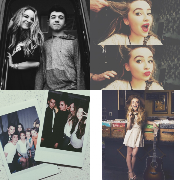 "Sabrina sur le tournage de ""Further Adventures in Babysitting"""