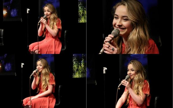 Sabrina le 17 mai 2015 aux PBS Studio à Bethléem
