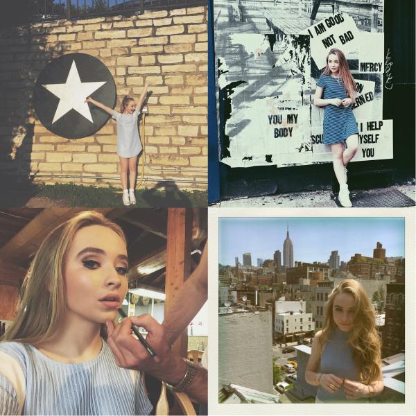 Pas trop de news de Sabrina en ce moment alors voici ses photos personnelles