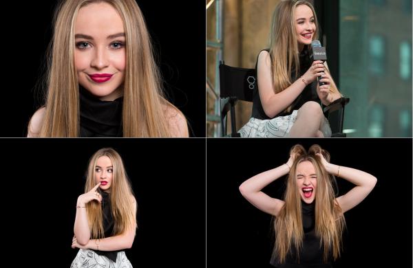 Le 8 juin Sabrina était dans les studios d'AOL Build pour une interview à New York