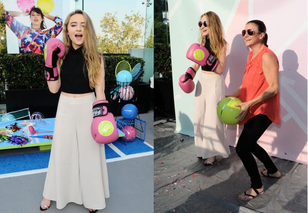Le 12 juin Sabrina était présente à un event de la marque Call It Spring Turf And Surf