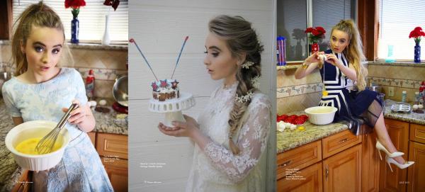 Sabrina fait la couverture du magazine Nation Alist + découvrez les photos du shoot