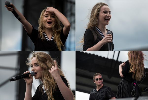 Sabrina le 28 juin au concert Show Of Summer