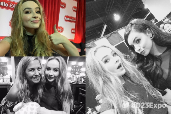 Interview de Sabrina lors de la D23 Expo 2015