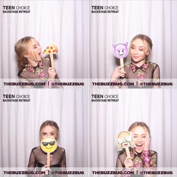 Voici de nouvelles photos de Sabrina lors des TCA