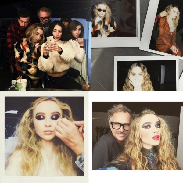 Le 27 octobre Sabrina était en photoshoot pour Kode Magazine