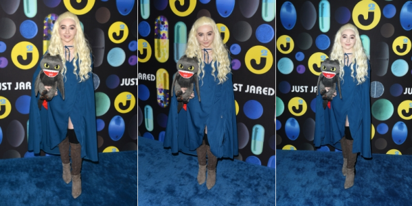 Le 31 octobre Sabrina était présente à une soirée d'Halloween préparé par Just Jared