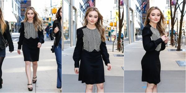 18/03 : Sabrina à New York
