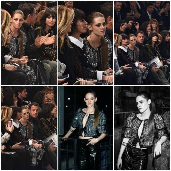 -- Le 01 décembre: Kristen Stewart chez Chanel Métiers d'Art 2015/16 Défilé de mode au Cinecitta! --