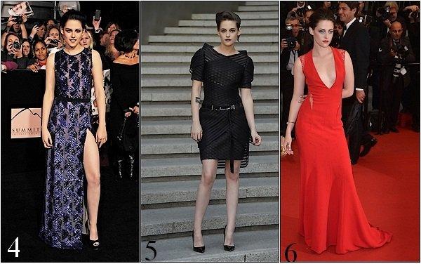 -- PETIT SONDAGE: Quel est pour toi la tenue de Kristen Stewart la plus belle, celle qu'elle porte le mieux ?   --