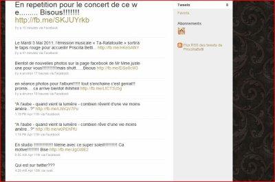 Twitte de Prissou
