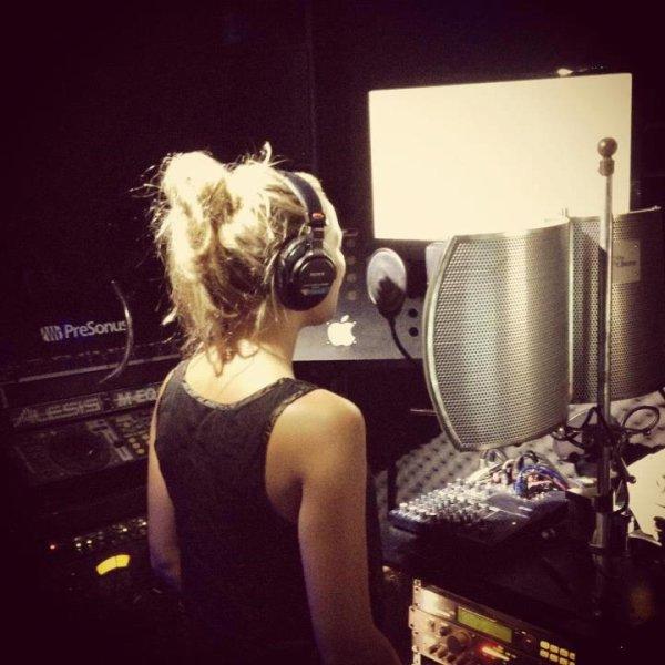 Priscilla en studio