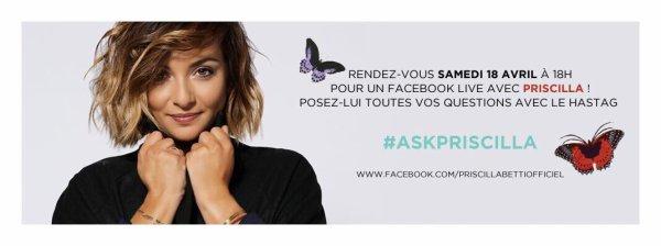 Live facebook ce samedi 15 avril à 18h00