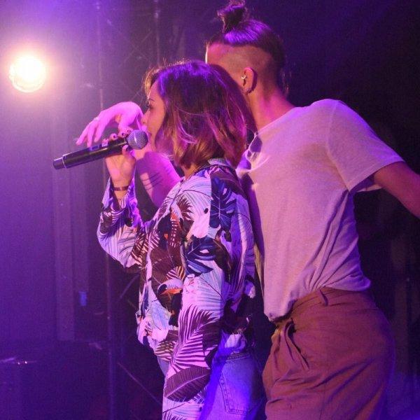 Priscilla été présente en live sur Horizon Live