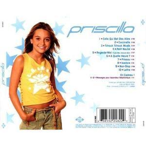 Anniversaire de la sortie du deuxième album de Priscilla : Priscilla (03/12/2002)