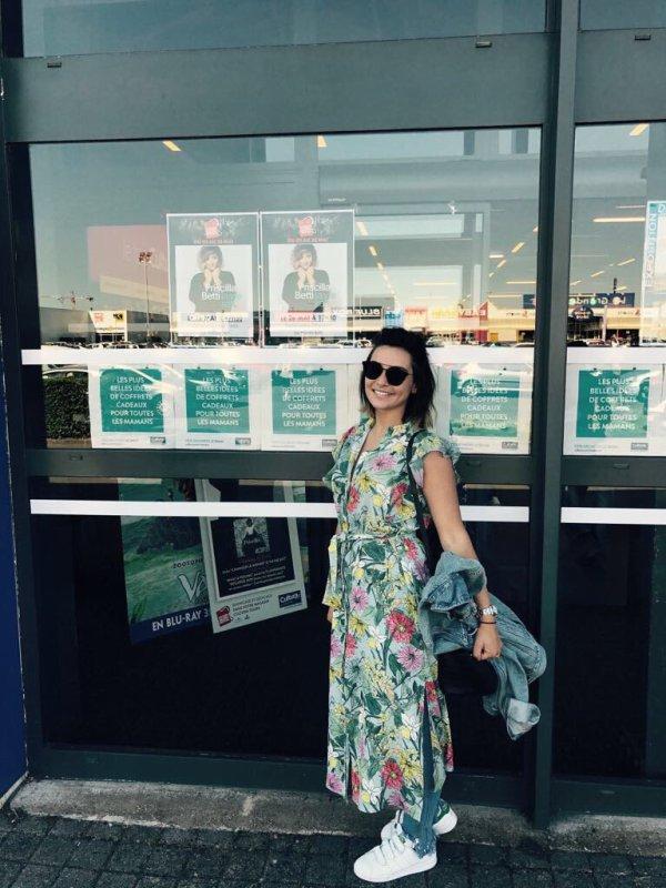 Priscilla continue sa tournée des Cultura, à Tours ce vendredi