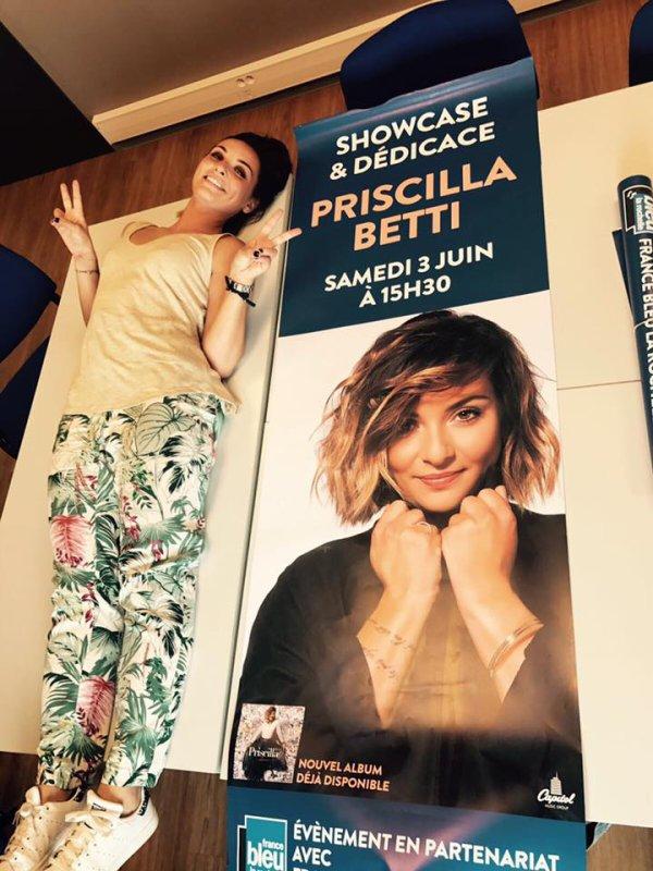 Priscilla est ce samedi à La Rochelle