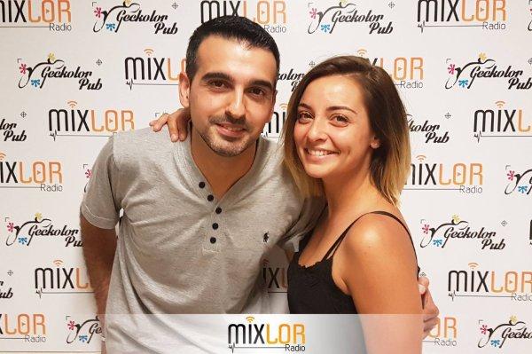 Priscilla été hier sur Mixolor Radio (Partie un)