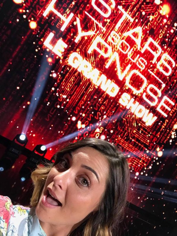 Priscilla été hier dans Stars sous Hypnose sur TF1