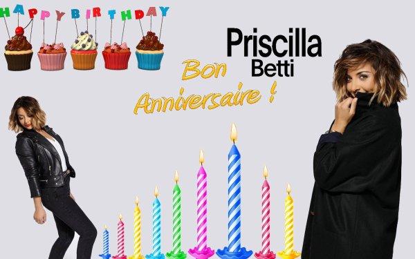 Joyeux anniversaire Priscilla !
