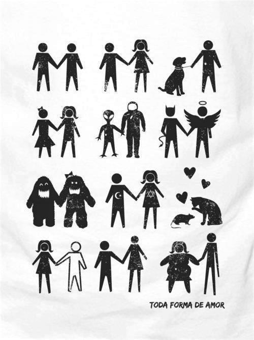 Depuis la nuit des temps, les êtres humains s'aiment d'amour, quelle que soit la différence. L'amour n'a pas d'âge. Il n'y a pas d'amour impossible. Tout amour vaut mieux que le manque d'amour.