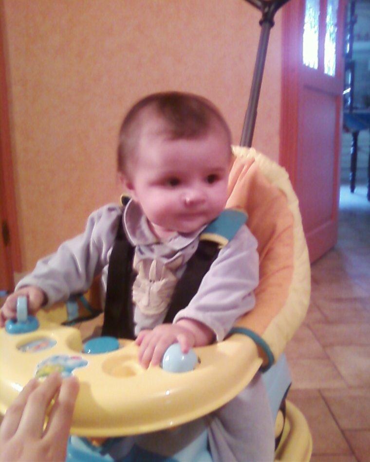 6 a7 mois de mon fils