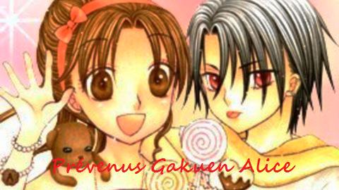 Liste des prévenus pour ma fiction sur Gakuen Alice