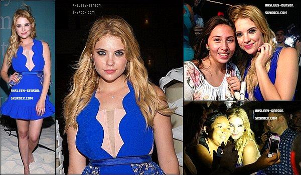 27/04/13 : Notre belle Ashley étaitàla cérémonie de clôture du Riviera Maya Film Festivalqui se déroulait àPlaya Del Carmen!
