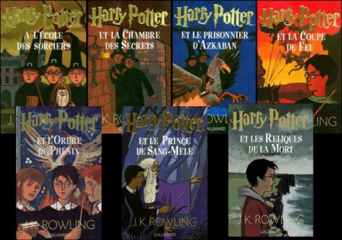 JK Rowling : Harry Potter  ♥ ♥ ♥