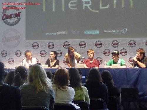 Intermède n°9 : Comic' Con Paris - Samedi 2 Juillet 2011 : MERLIN