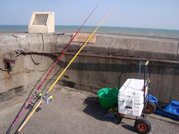 Pêche en jetee!!!