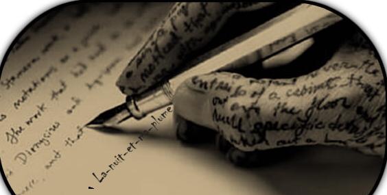 Mes nuits et mon écrit