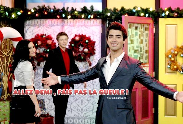 Joe Jonas se la pète chez son ex !